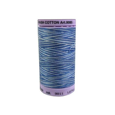 Mettler Silk Fin Cotton #50 500yd Multi Clear Sky