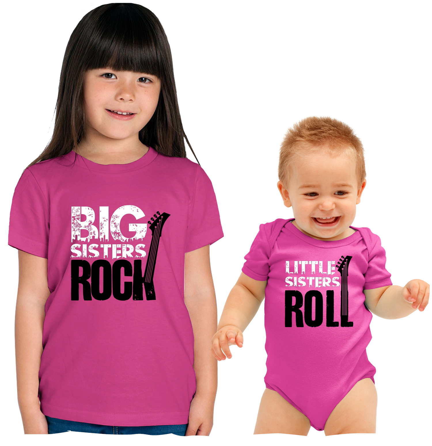 Nursery Decals And More Nursery Decals And More Big Sister Little Sister Matching Outfits Big Brother Christmas Shirt Big Sisters Rock Little Sisters Roll Big Sibling 14 16 Lil Sibling 6 12m 6m