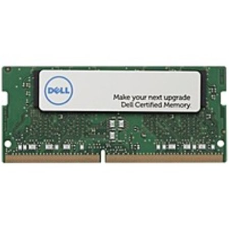 Refurbished Dell 4 GB Certified Memory Module - 1RX16 SODIMM 2400MHz - 4 GB - DDR4-2400/PC4-19200 DDR4 SDRAM - CL17 - 1.20 V - Non-ECC - Unbuffered - 260-pin - - Non Ecc Sdram Module