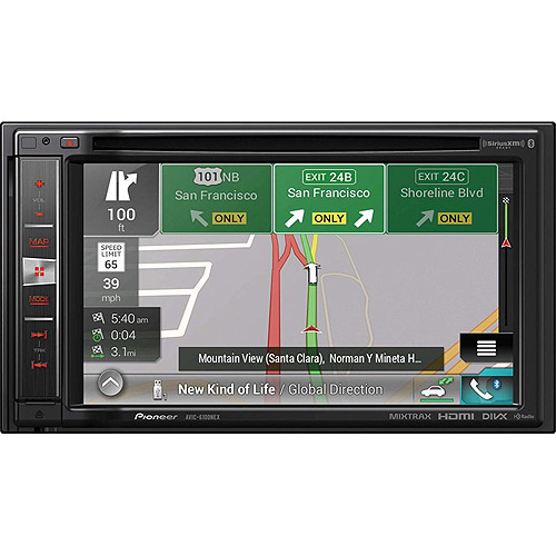 "Pioneer AVIC-6100NEX In-Dash Navigation AV Receiver with 6.2"" WVGA Touchscreen Display by Pioneer"