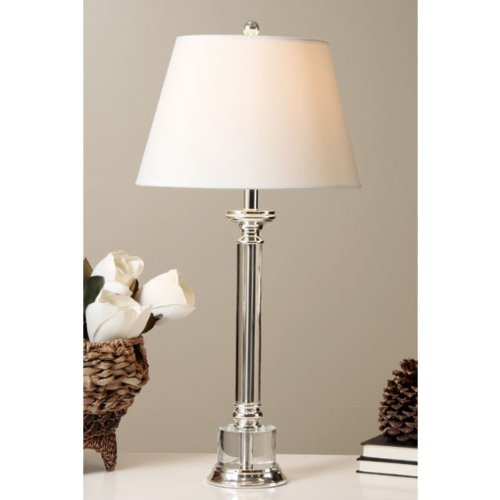 Crystal Base Table Lamp, Modern Table Lamp, Living Room Lighting