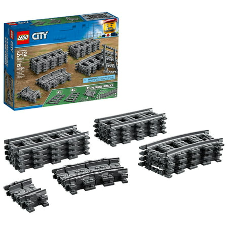 LEGO City Trains Tracks 60205 Building Accessory (20 Pieces)](Lego Halloween Ghost Train)