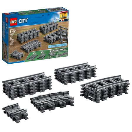 LEGO City Trains Tracks 60205 Building Accessory (20 Pieces) ()