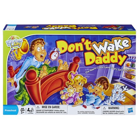Don't Wake Daddy Preschool Game for Kids Ages 3 and up - Pre K Halloween Games