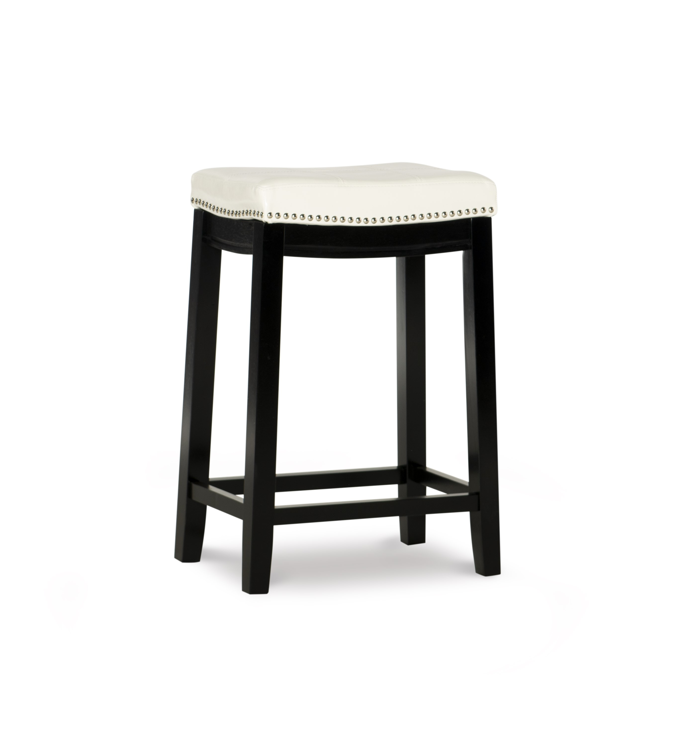 Strange Linon Claridge Backless Counter Stool 24 Inch Seat Height Uwap Interior Chair Design Uwaporg