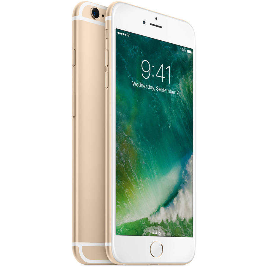 Refurbished Apple iPhone 6S Plus 16GB Gold LTE Cellular AT&T 3A550LL/A