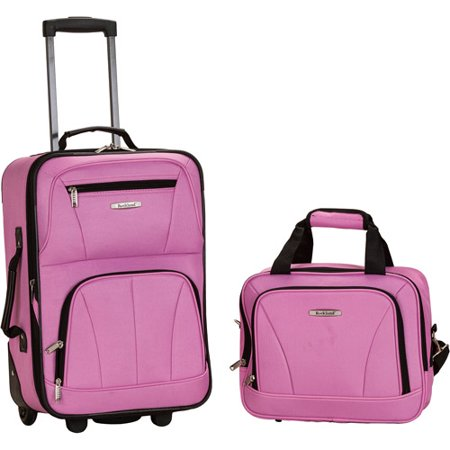 Rockland Luggage Rio 2-Piece Carry-On Luggage Set - Walmart.com