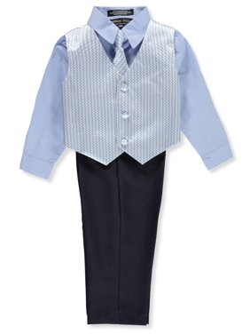 737ac1e2 Product Image Andrew Fezza Baby Boys' 4-Piece Vest Set