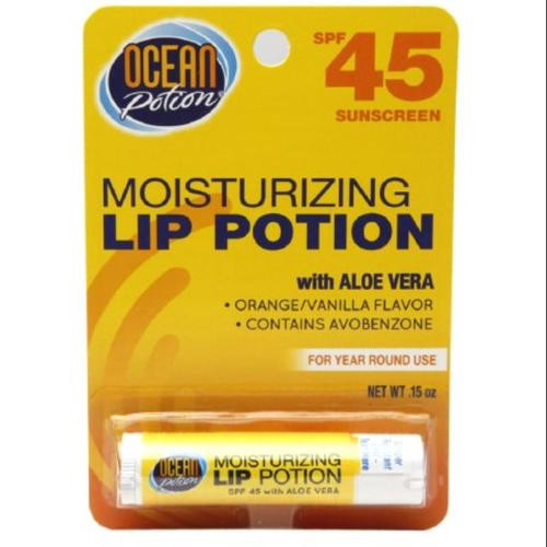 Ocean Potion Moisturizing Lip Potion SPF 45 0.15 oz (Pack of 2)