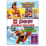 Lego Scooby-Doo! Double Feature: Haunted Hollywood / Blowout Beach Bash (DVD + Figurine) (Halloween Blowout)