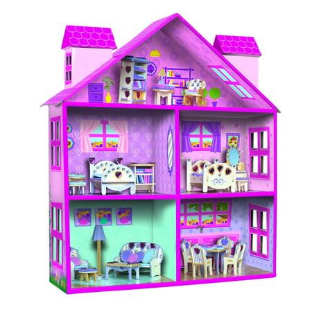 Small World Toys Creative Furnished Doll House Walmart Canada