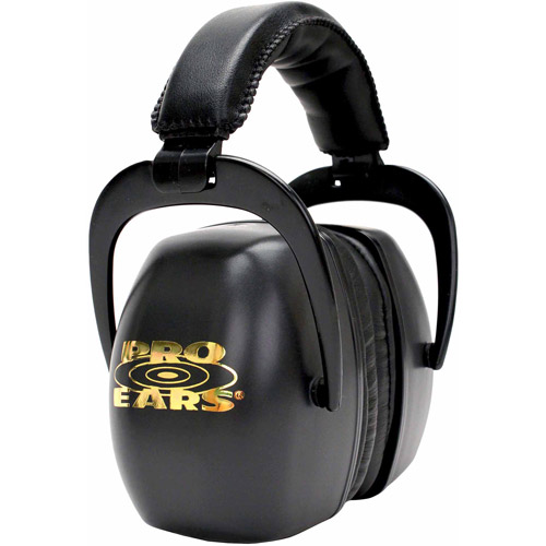 Pro Ears Standard Hearing Protection Ultra Pro, NRR 30, Black