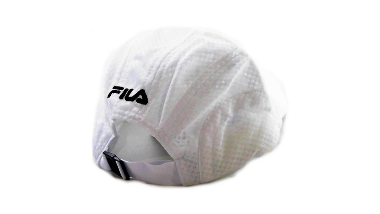 5d6048925a95 FILA Sport Moisture-Control Ciba Stretch Fitness Golf Running Cap Hat  Womens Baseball White Mesh Designer Fashion Accessories Sale AC00041 -  Walmart.com
