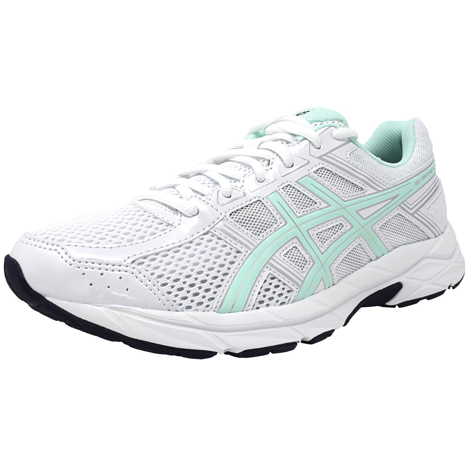 Asics Women's Gel-Contend 4 White / Bay Silver Ankle-High...