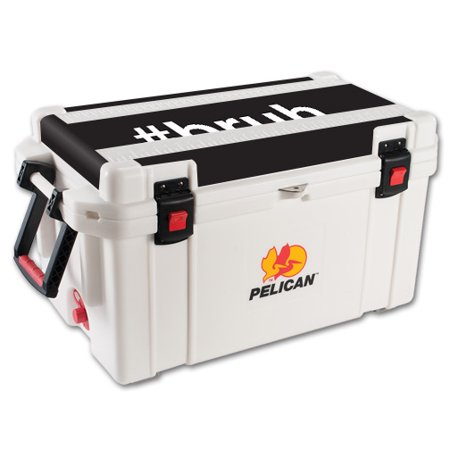 MightySkins Skin For Pelican 65 qt Cooler Lid | Protective, Durable, and Unique Vinyl Decal wrap cover | Easy To Apply, Remove, and Change Styles | Made in the USA ()