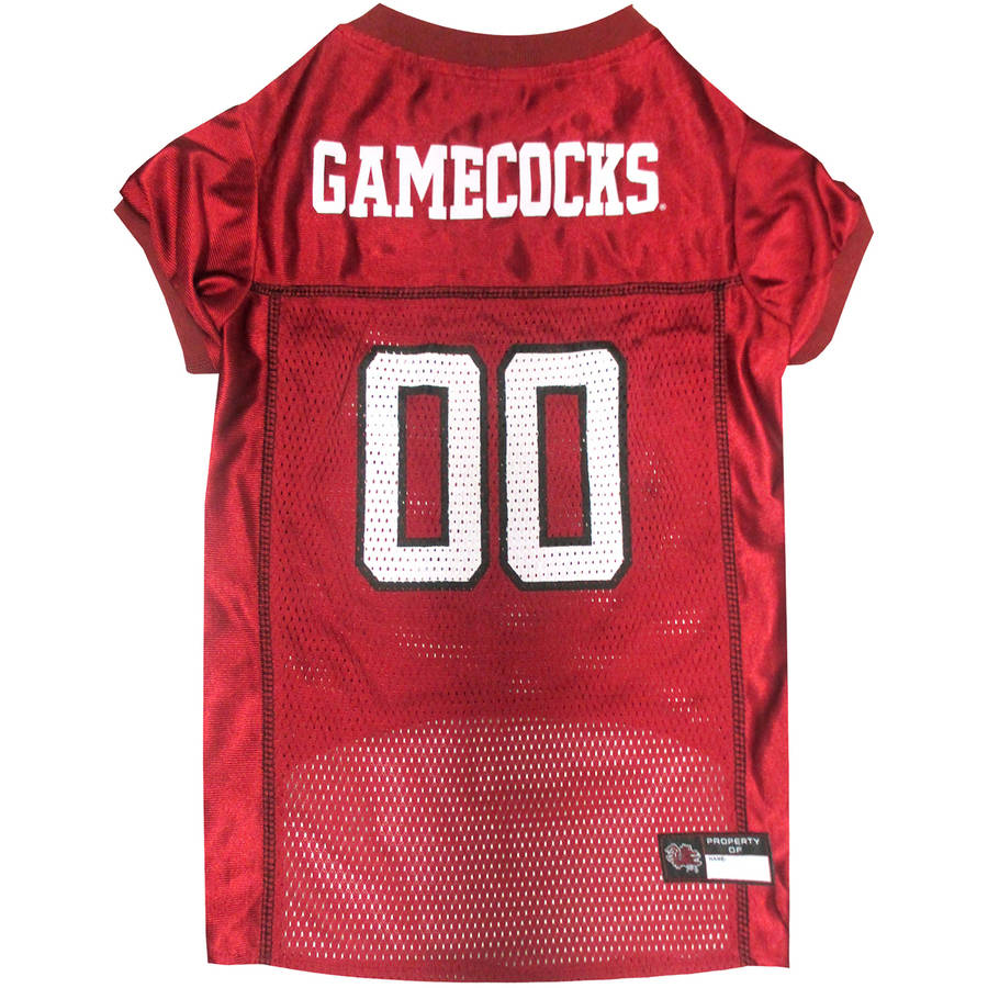 Pets First College South Carolina Gamecocks Collegiate Dog Jersey, Available in Various Sizes