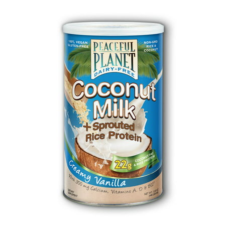 Coconut Milk + Rice Protein 32 g/Vanilla VegLife 15.8 oz Powder