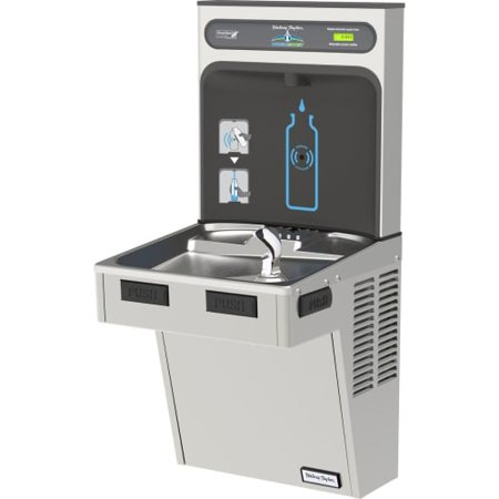 Halsey Taylor HTHB-HAC8-NF HydroBoost Single Station Indoor Water Fountain Cool