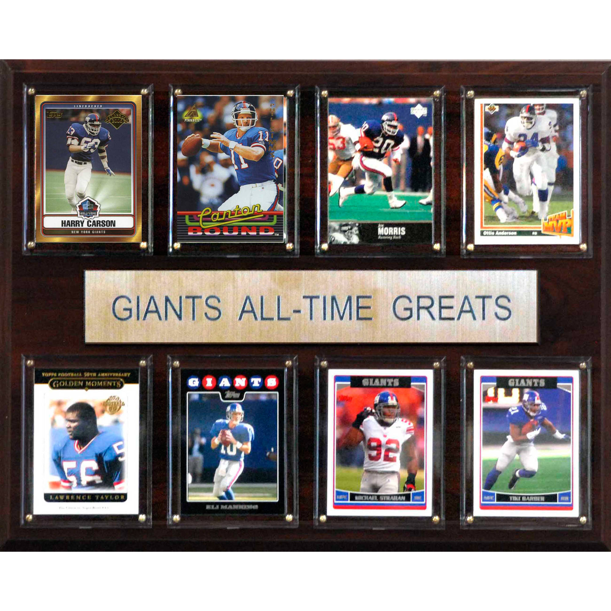 C&I Collectables NFL 12x15 New York Giants All-Time Greats Plaque