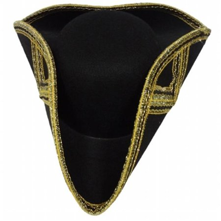 Deluxe Tricorne Hat For Adult By Dress Up America](V For Vendetta Hat And Wig)