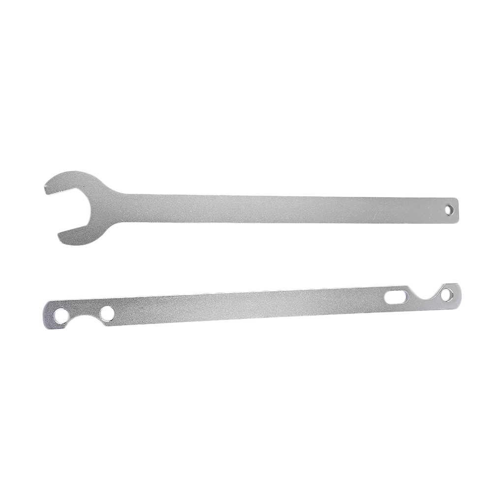 2pcs Tool Kit For BMW Fan Clutch Nut 32mm Heavy Duty Steel Wrench and Water Pump Holder Removal Tool Kit by