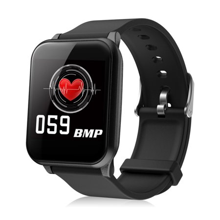 Smart Watch, EEEKIt Bluetooth Smartwatch Touch Screen Wrist Watch IP67 Waterproof with Heart Rate & Sleep Monitor, All-day Activity Tracking, Multi-Sport Modes, Connected GPS