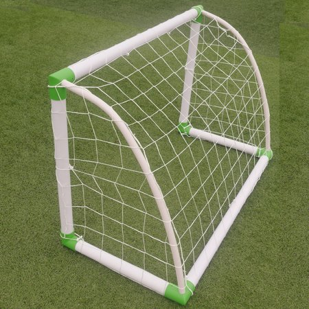 Ktaxon 4'(H) x 2.6'(w) Portable Football Soccer Goal Training Set, with Net Buckles Ground Nail, for Beach, Playground use - image 1 of 6