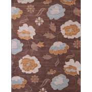 Transitional Floral Oushak Oriental Hand-Tufted 10x13 Wool Area Rug