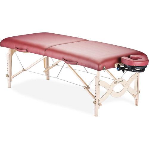 EarthLite Avalon XD Massage Table Kit, Burgundy