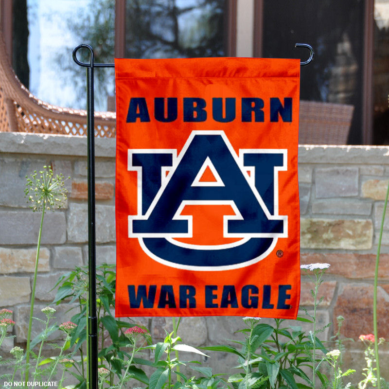 "Auburn Tigers War Eagle 13"" x 18"" College Garden Flag"