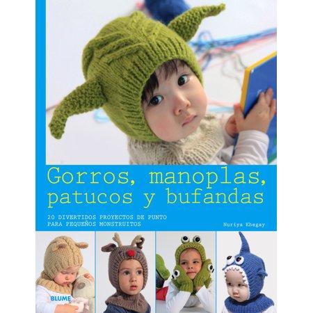 Gorros, manoplas, patucos y bufandas : 20 divertidos proyectos de punto para pequeños monstruitos](Gorros A Crochet De Halloween)