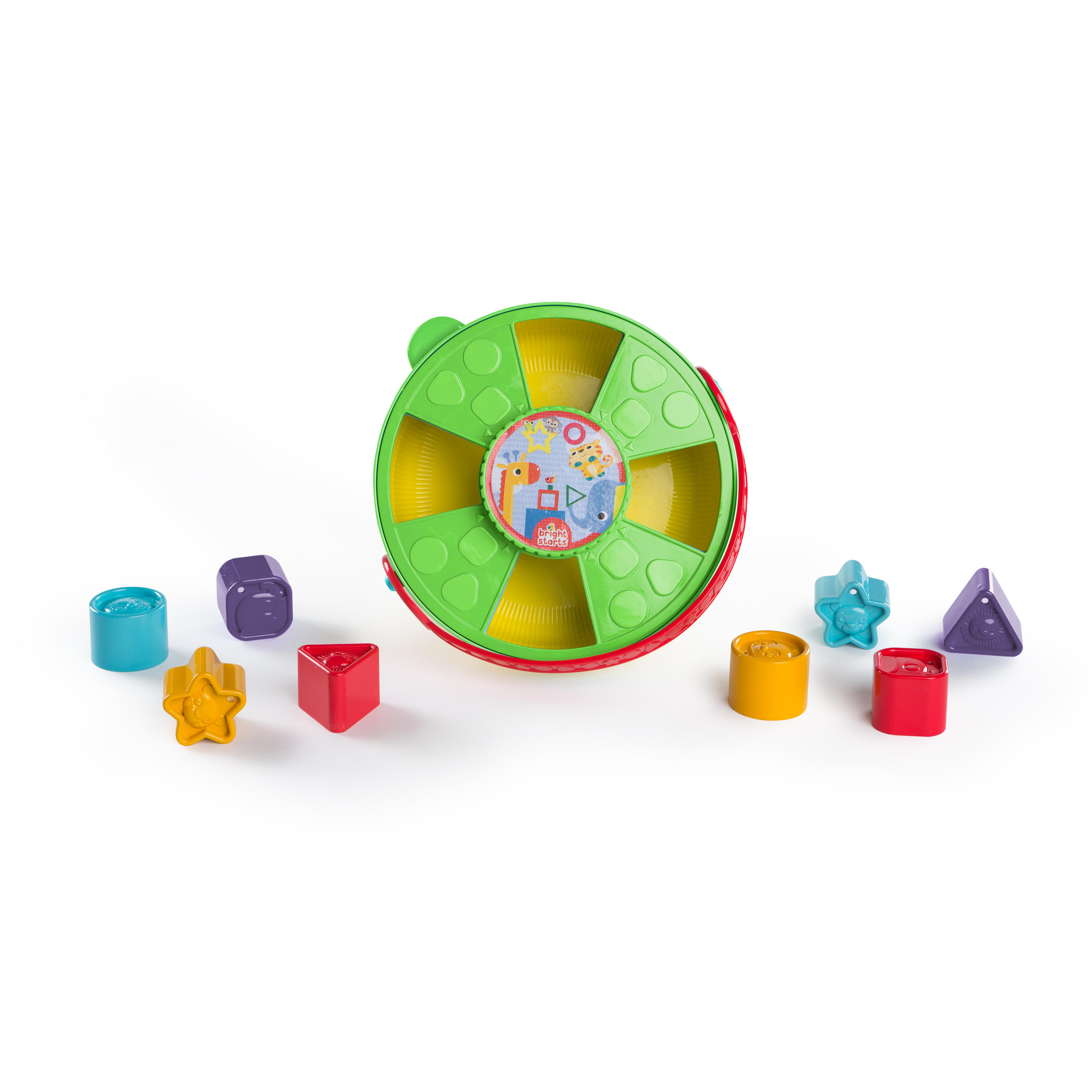 Bright Starts 4 In 1 Twist & Grow Shape Sorter by Bright Starts