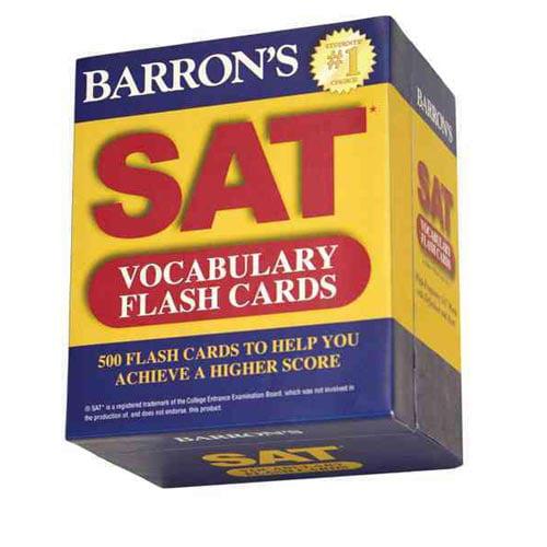 Barron's Sat Vocabulary Flash Cards by Sharon Weiner Green