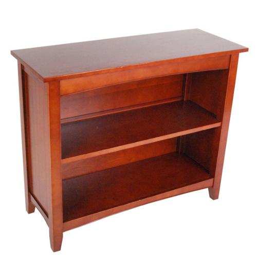 Fair Haven Wood Bookcase Espresso