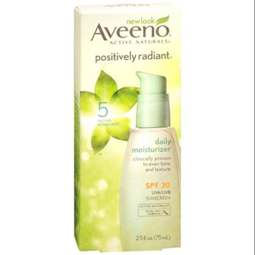 AVEENO Active Naturals Positively Radiant Daily Moisturizer SPF 30 2.50 oz (Pack of 3)