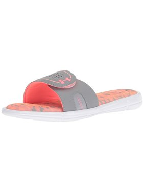 f04973f92 Product Image Under Armour Women's Ignite VIII Edge Slide Sandal,  Brilliance (601)/Steel,