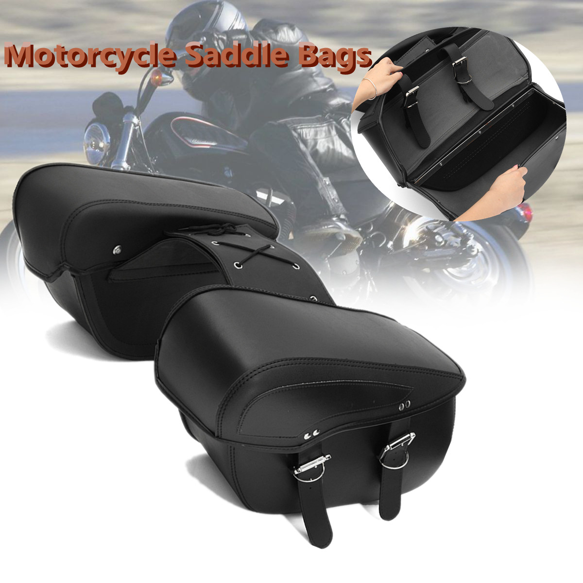 Luggage Saddle Bag Latch Covers 1993-2013 Harley Dresser Chrome FLH FLT
