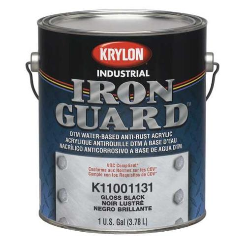 Krylon Interior/Exterior Paint, Black K11001135