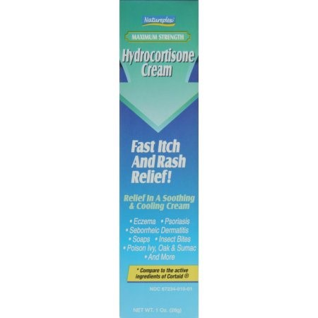 Natureplex Maximum Strength Hydrocortisone Cream, 1 Oz