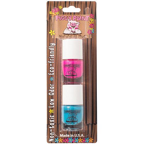 Piggy Paint Nail Polish Set, LOL & Mer-maid in the Shade, 0.125 fl oz, 2 ct