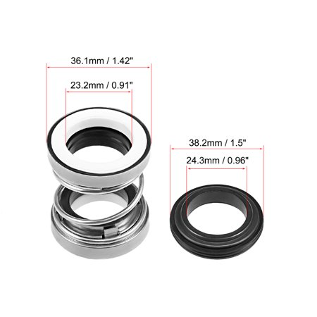 Mechanical Shaft Seal Replacement for Pool Spa Pump 2pcs 202-22 - image 1 of 3