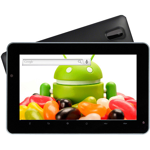 "Refurbished Supersonic SC-1007JB 7"" Tablet Dual Core Processor with 4GB Memory"
