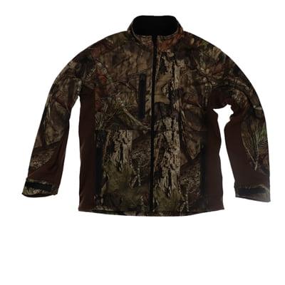Pursuit Gear Quest Softshell Jacket Mossy Camo Pattern Mens - Medium (Quest Vest)