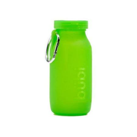 Bubi Brands BB42SG379 14oz & 414 ml Foldable Water Bottle Rose, Seaweed Green - image 1 of 1