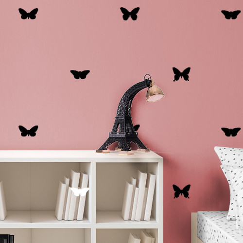 Dana Decals Butterfly Pattern Wall Decal (Set of 48)