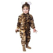 Infant Tiger Pajama Velboa Costume