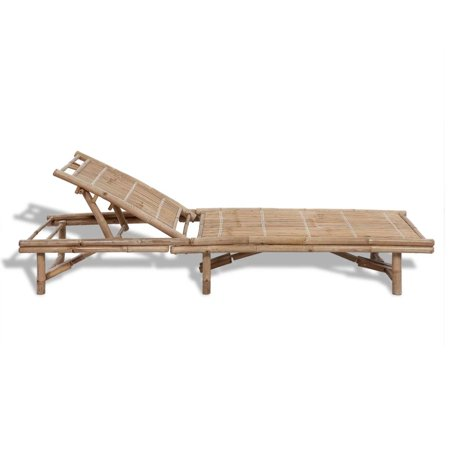 HERCHR Sun Lounger Bamboo