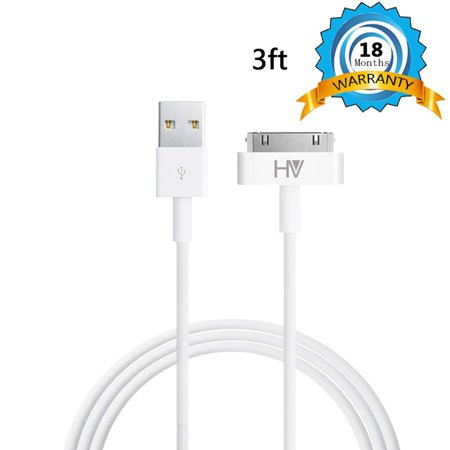 30 Pin Sync And Charge Dock Cable For Iphone Products Ai 3 Feet