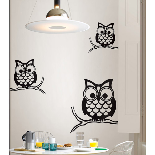 WallPops Give A Hoot Wall Art Kit