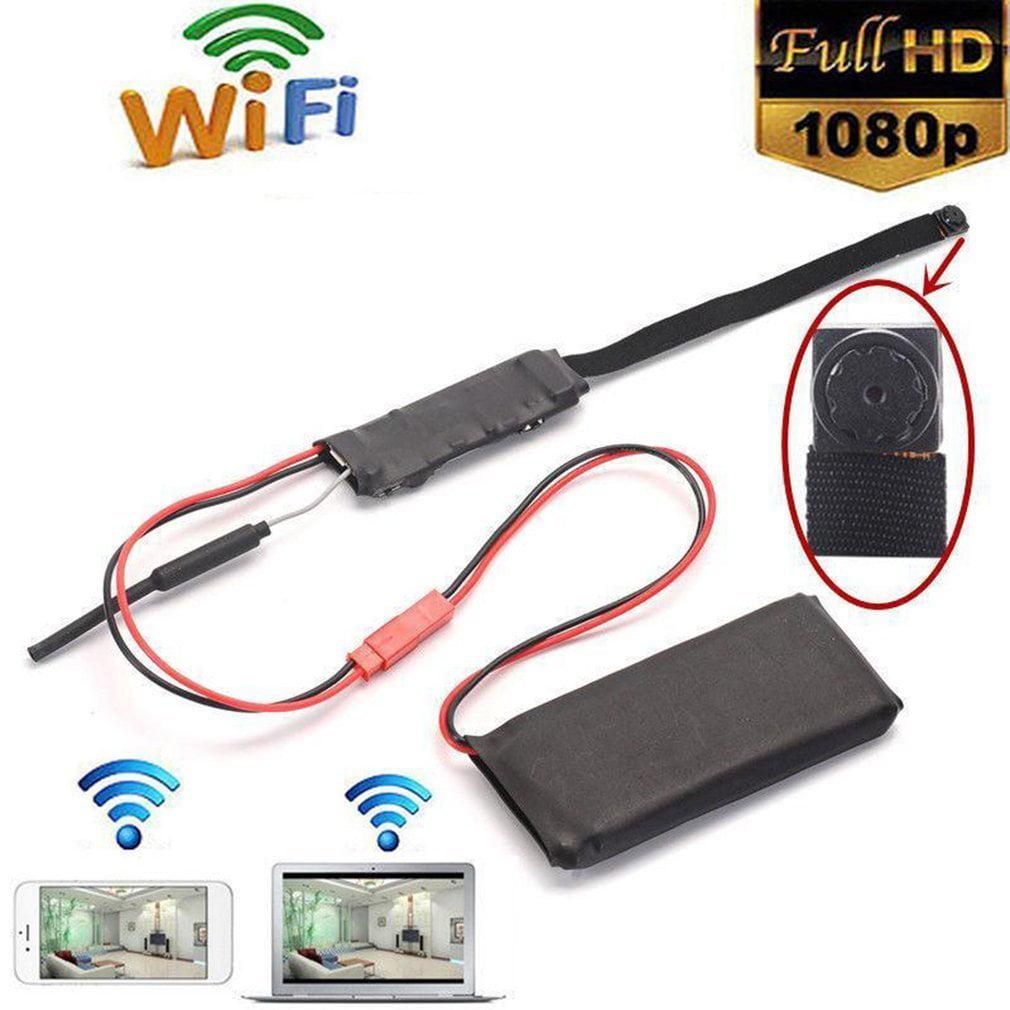 Z5S Mini Size Flexible Appearance 1080P WIFI Camera P2P camera Module 90 Degree View Angle WiFiRemote Monitor Nanny Cam DVR black On Sale